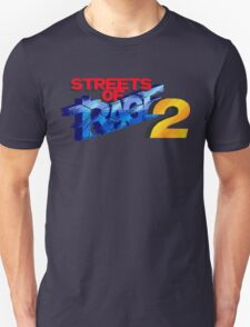 Streets of Rage 2 (Genesis) Title Screen T-Shirt