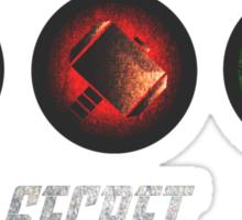 Super Secret Boyband Sticker