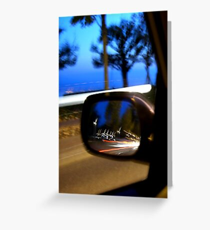 Traffic Reflections Greeting Card