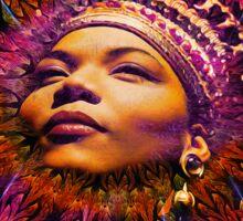 The Queen... Queen Latifah Sticker