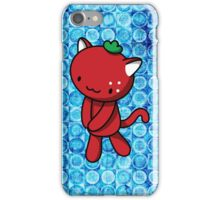 Strawberry Kitty iPhone Case/Skin