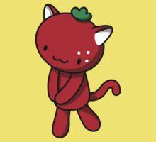 Strawberry Kitty One Piece - Short Sleeve