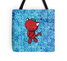 Strawberry Kitty Tote Bag