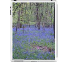Beautiful bluebells number 2 iPad Case/Skin