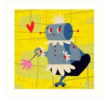 Rosie the Robot Art Print