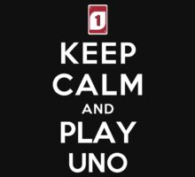 Keep Calm and Play UNO Kids Clothes