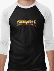 Shining Force (Genesis) Title Screen Men's Baseball ¾ T-Shirt