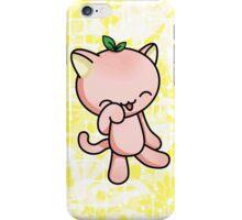 Peach Kitty iPhone Case/Skin