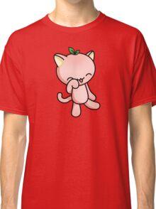 Peach Kitty Classic T-Shirt