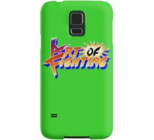 Art of Fighting (Arcade) Title Screen Samsung Galaxy Case/Skin