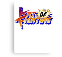 Art of Fighting (Arcade) Title Screen Canvas Print