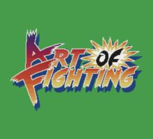Art of Fighting (Arcade) Title Screen One Piece - Short Sleeve