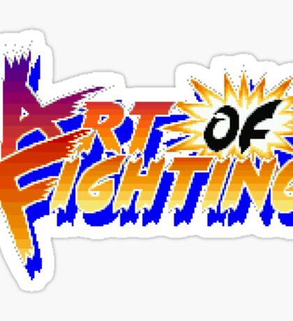 Art of Fighting (Arcade) Title Screen Sticker
