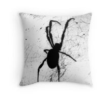Incy wincy spider Throw Pillow