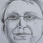 Kevin Rudd, Australian Prime Minister by Estelle O'Brien