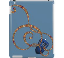 Time Scarf iPad Case/Skin