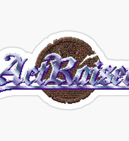 Actraiser (SNES) Title Screen Sticker