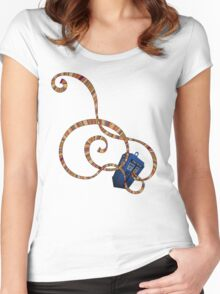Time Scarf Women's Fitted Scoop T-Shirt