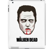 "Christopher Walken - ""The Walken Dead"" Official T-Shirt iPad Case/Skin"