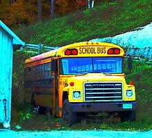 School Bus by Abi Skeates