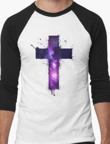 Galaxy Cross Men's Baseball ¾ T-Shirt