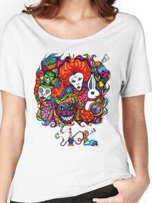 Alice & Hookah Women's Relaxed Fit T-Shirt
