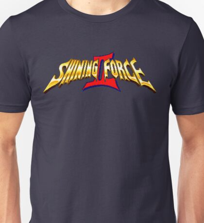 Shining Force 2 (Genesis) Title Screen Unisex T-Shirt
