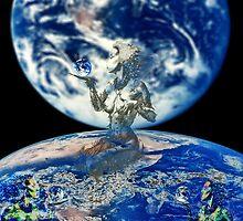 Kiss goodbye to a Wonderful Planet Gaia by princetuck