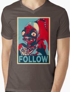 ODDWORLD ABE FOLLOW Mens V-Neck T-Shirt