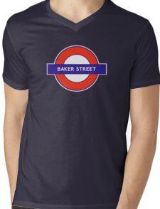 Baker Street Anyone? Mens V-Neck T-Shirt