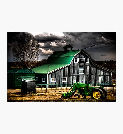 Green with Envy Photographic Print