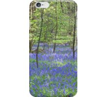 Beautiful bluebells number 3 iPhone Case/Skin