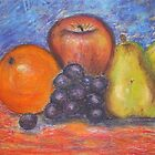 Still Life Fruit by Estelle O'Brien