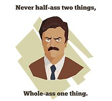 Ron: Half-Assed - Transparent by rwkeon