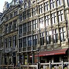 sun reflection in grand place by evaahn