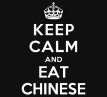 Keep Calm and eat Chinese Kids Clothes