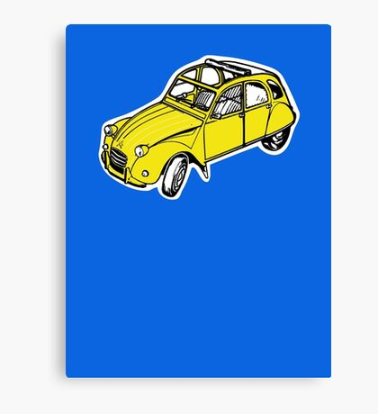 citroen 2 cv  Canvas Print