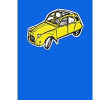 citroen 2 cv  Photographic Print