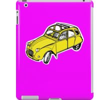 citroen 2 cv  iPad Case/Skin