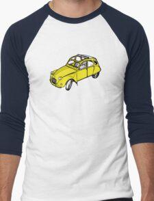 citroen 2 cv  Men's Baseball ¾ T-Shirt