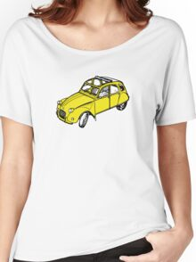citroen 2 cv  Women's Relaxed Fit T-Shirt