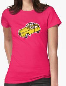citroen 2 cv  Womens Fitted T-Shirt