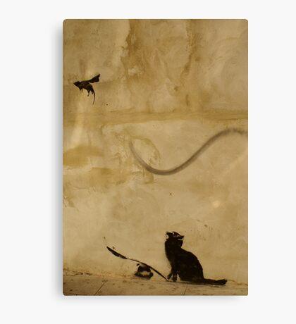 Cat vs Rat Canvas Print
