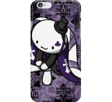 Princess of Clubs White Rabbit iPhone Case/Skin