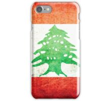 Lebanon - Vintage iPhone Case/Skin