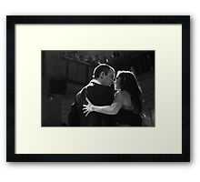 Tango in Black Framed Print