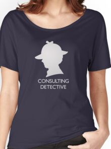 Consulting Detective Sherlock Shirt - Dark Women's Relaxed Fit T-Shirt
