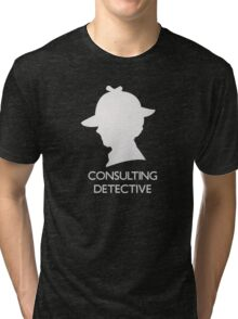 Consulting Detective Sherlock Shirt - Dark Tri-blend T-Shirt