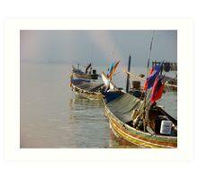 West of Koh Samui Art Print