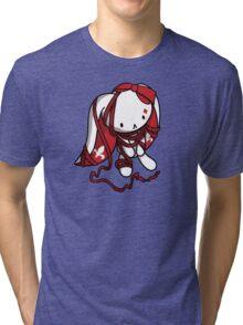 Princess of Diamonds White Rabbit Tri-blend T-Shirt